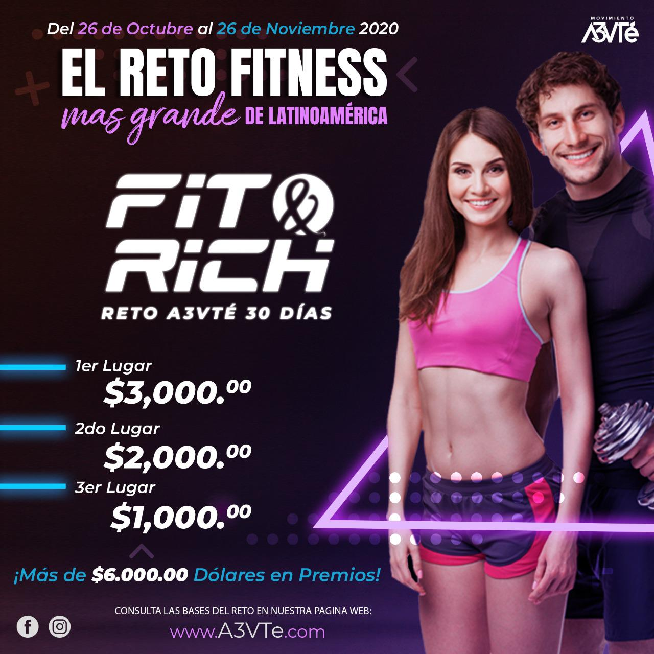 Reto Fit & Rich de 30 días 3